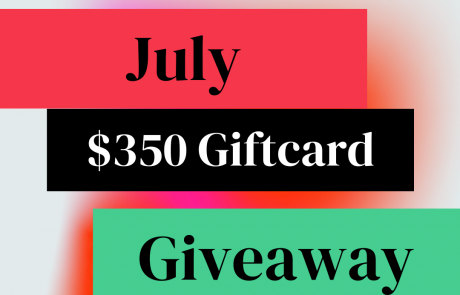 Reader Central's $350 GC July BookBub Follower Giveaway