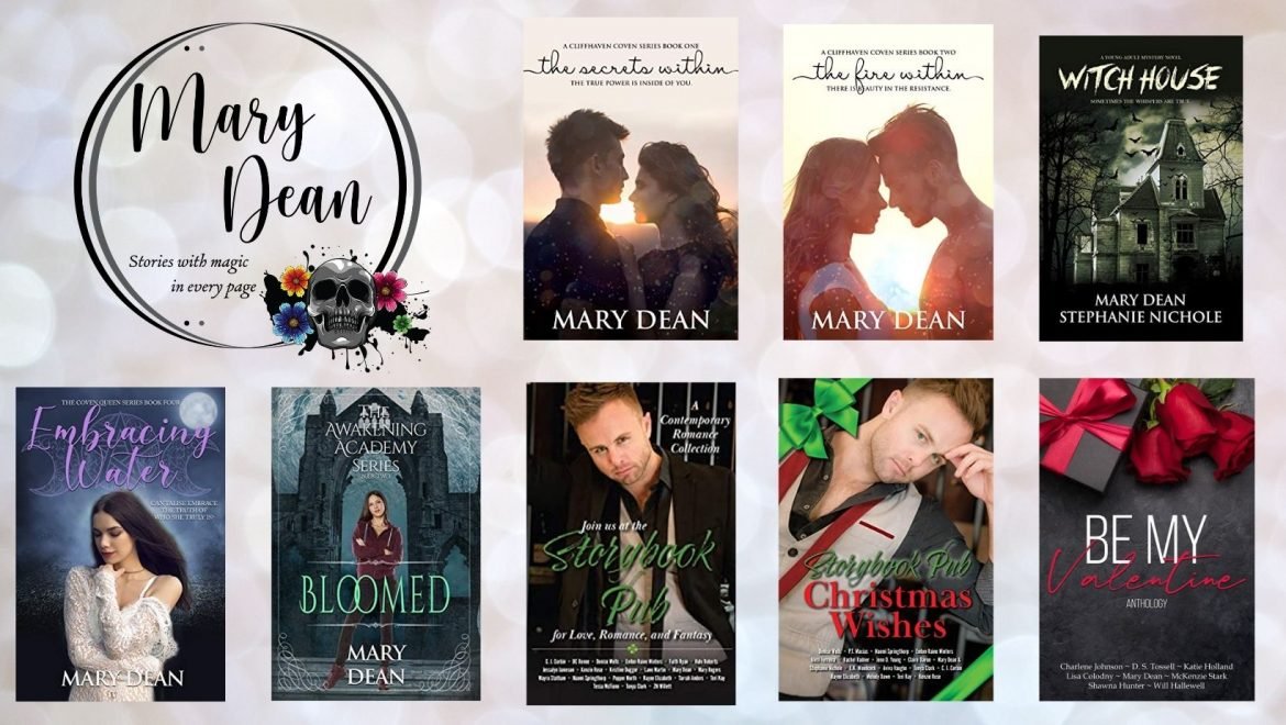 Mary Dean (Weekly Author Spotlight 15 March 2021)