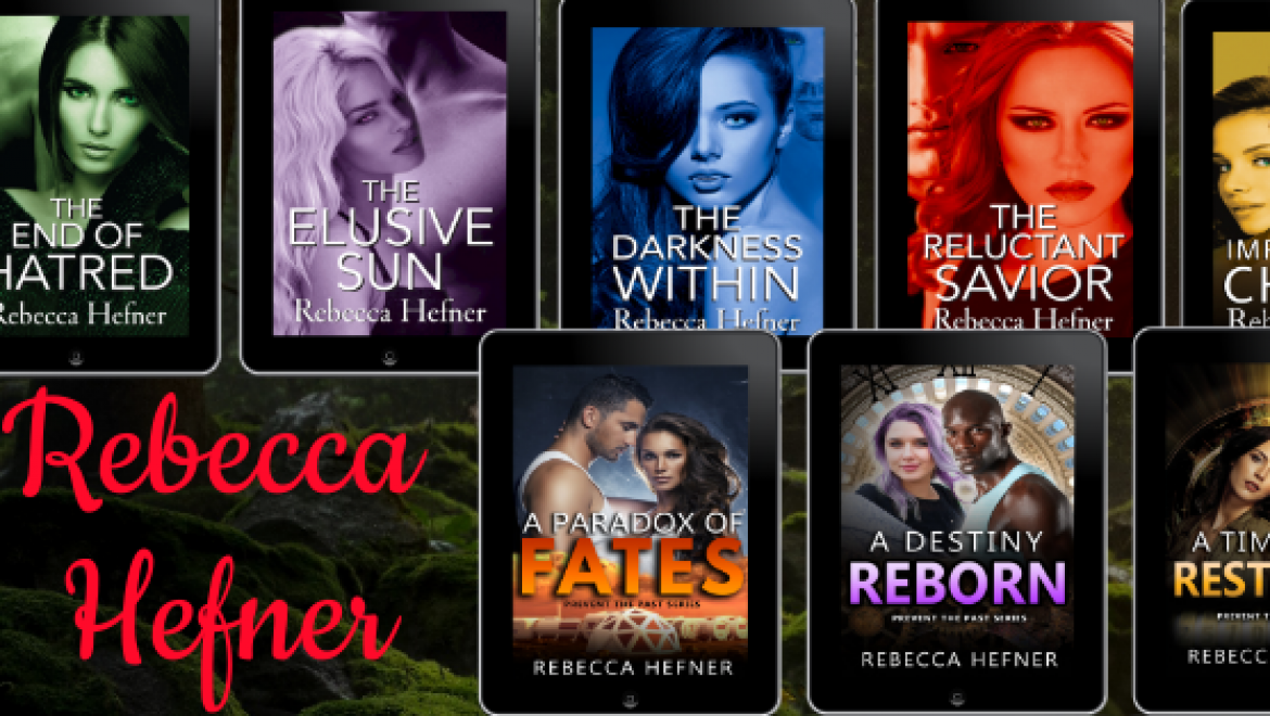 Rebecca Hefner (Weekly Author Spotlight 26 April 2021)