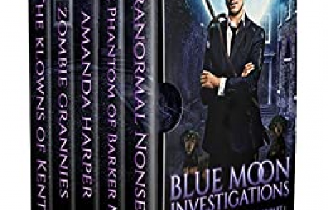 Blue Moon Investigations: A Humorous Fantasy Adventure Series Boxed Set Part 1